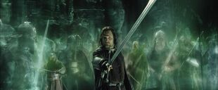 Aragorn and Army of the Dead