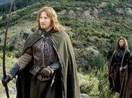 Faramir with his bow