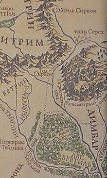 Tol Sirion-Minas Tirith