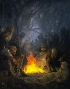 Мерри и Пиппен в плену Урук-хай