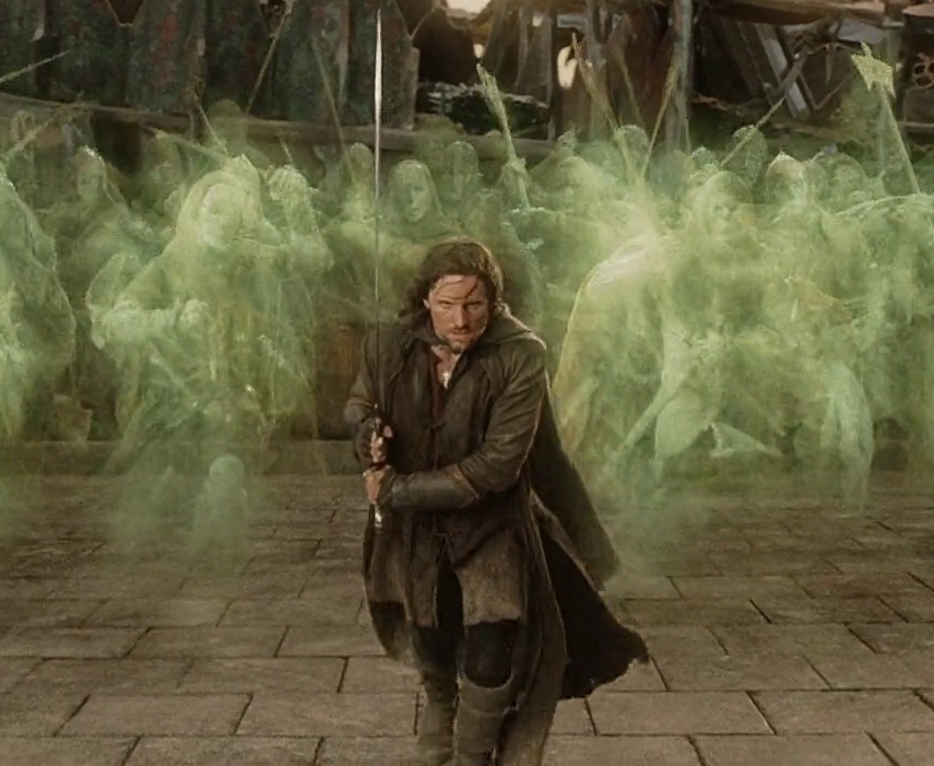 Image - Aragorn-Dead army jpg | The One Wiki to Rule Them All