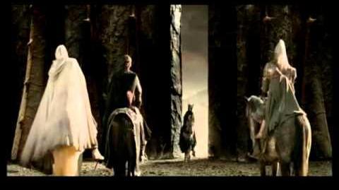 Вырезанные эпизоды из Властелина колец Арагорн против Саурона-0
