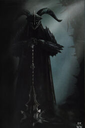 Khamûl concept in The Hobbit