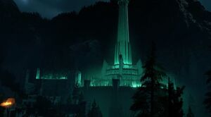 Side view Of Minas Morgul