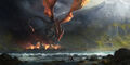 Smaug destroys Esgaroth by Gaius31duke.jpg