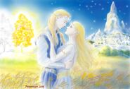 Finrod and amarie by annamare