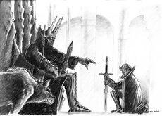 Eric Faure-Brac - Morgoth and Sauron