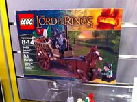 LEGO gandalf arrives