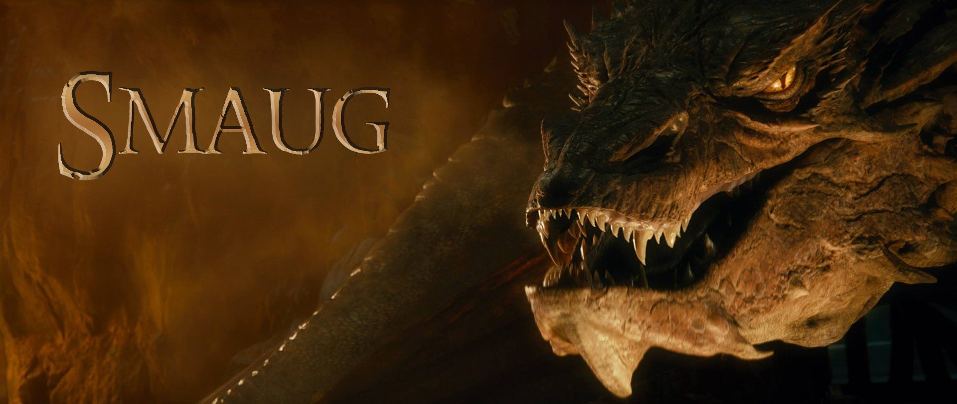 Smaug Dragon The Hobbit Desolation Of Movie Wallpaper