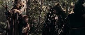 Faramir encounters Frodo and Sam