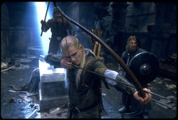 Legolas in Moria