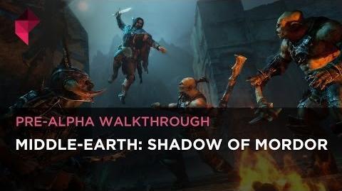 Middle-Earth Shadow of Mordor Pre-Alpha Walkthrough