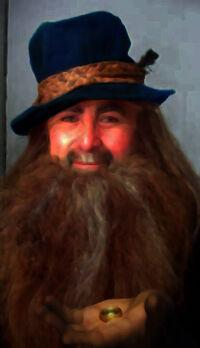 Tom-bombadil (Harry Wellerchew) imunne One Ring by deviantart