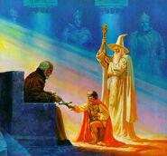 Пиппен приносит клятву верности Денетору