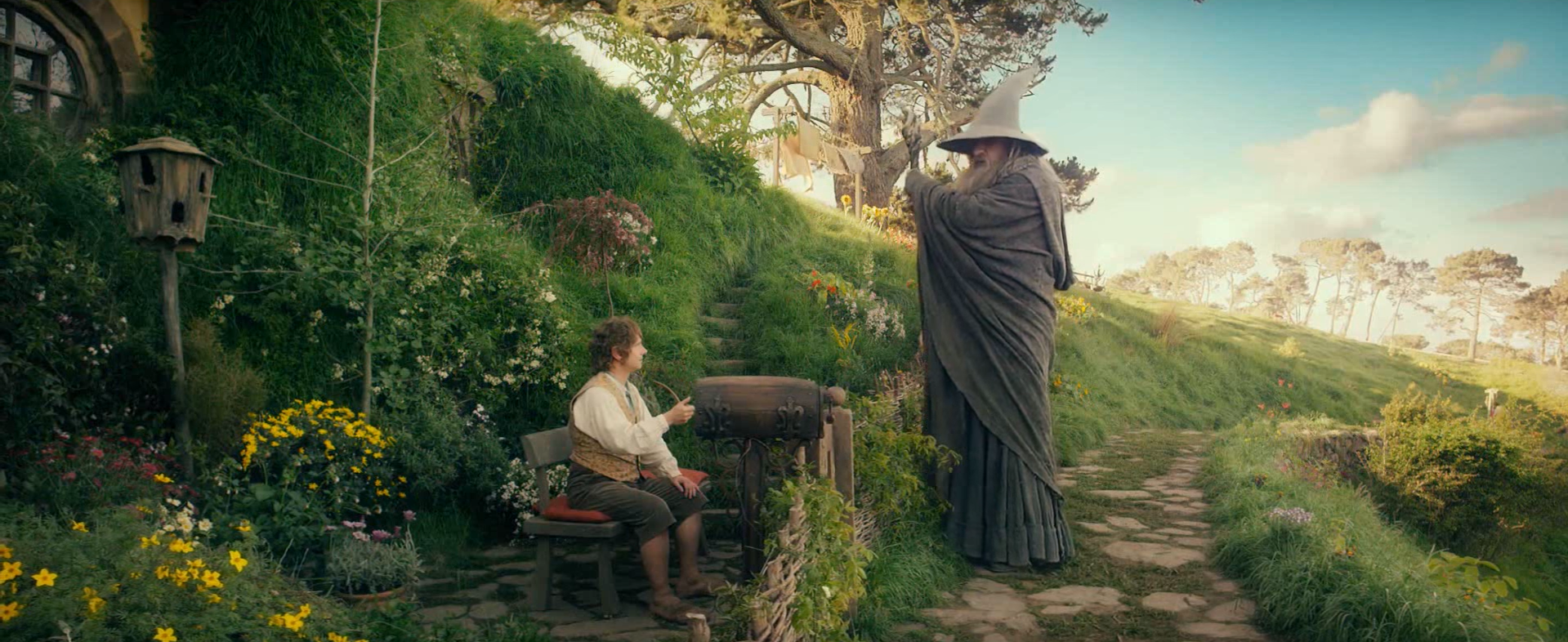 image bilbo meets gandalfpng the one wiki to rule