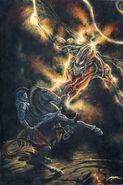 Gothmog vs fingon king of the noldorin elves by kiprasmussen