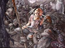 Jenny Dolfen - Maedhros captured by Orcs