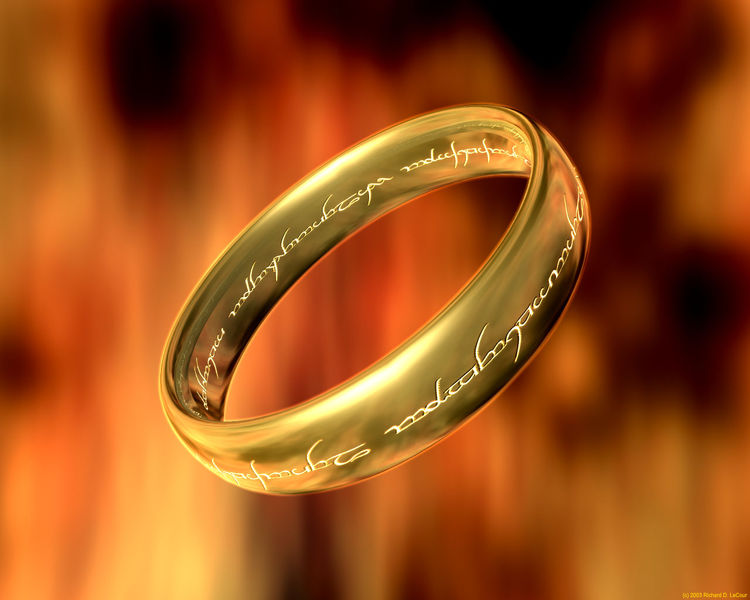 Lord Of The Rings Ring Quote | Ring Inscription The One Wiki To Rule Them All Fandom Powered By