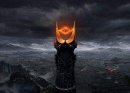 Sauron eye barad dur