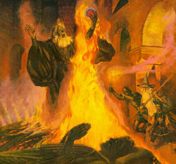 The Pyre of Denethor by Robert Chronister