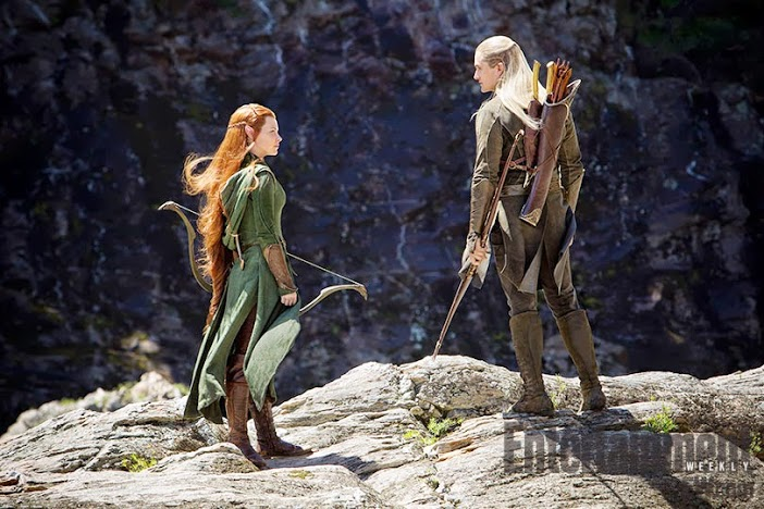 Tauriel And Legolas From Entertainment Weekly