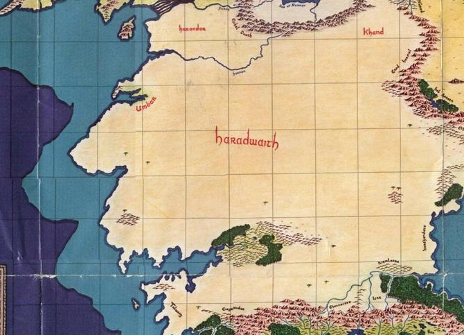 Harad | The One Wiki to Rule Them All | FANDOM powered by Wikia on lord of the rings map, the hobbit map, kingdoms of middle earth buildings,