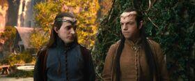 Lindir und Elrond