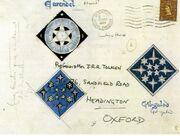 Briefumschlag Earendil und Gil-galadd