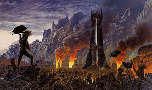 Ted Nasmith - The Wrath of the Ents