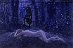Turin and Nienor by Ted Nasmith