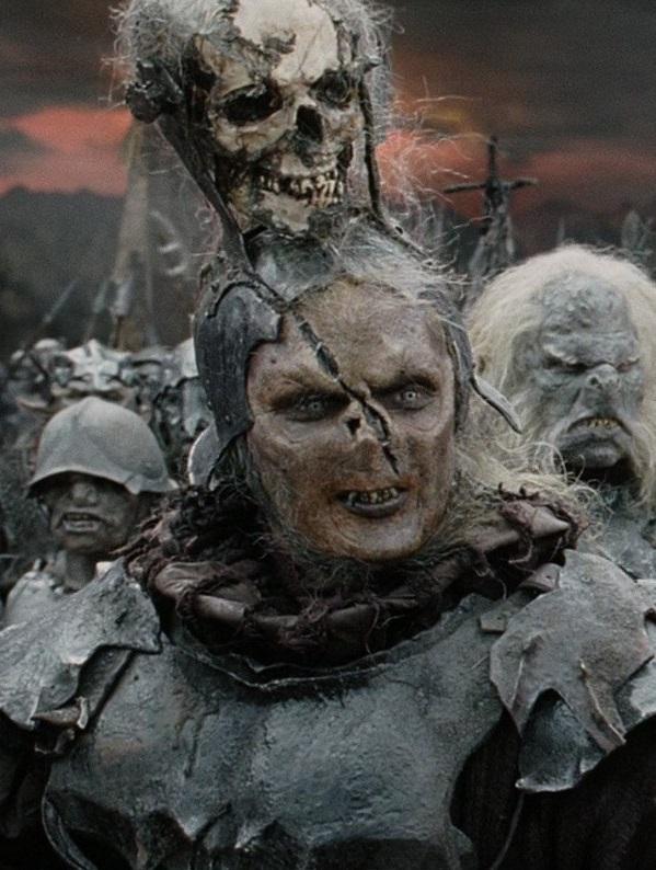 тоже воевал, фото актеров орков средиземья пьёт кровь