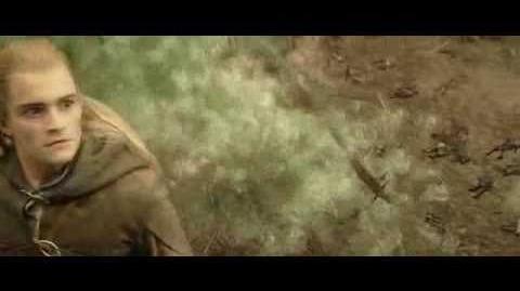 Legolas kills Oliphaunt in
