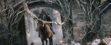 Thranduil's elk's death
