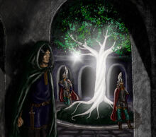Isildur and the fruit of nimloth by mirachravaia-d5y7y2k