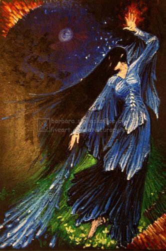 Lúthien - autorstwa Barbary Śliwińskiej