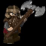 LEGO Gimli Le Nain