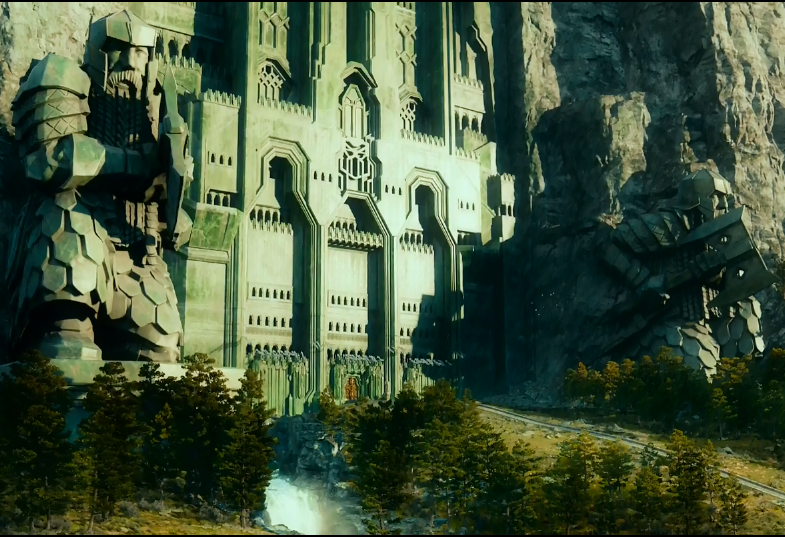 Lord of the Rings Lonely Mountain Erebor Zoom Background