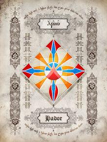 Silmarillion heraldry hador by aglargon-d8hakvn