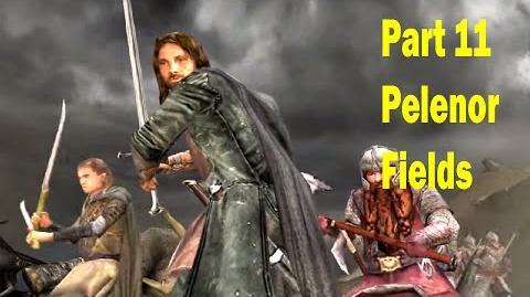 LotR Return of the King - Walkthrough Game - Pelennor Fields - Part 11