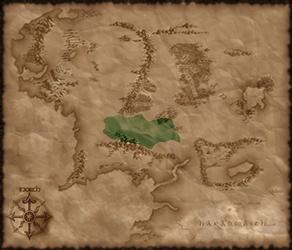 Location of Rohan in TATW
