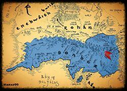 Lossarnach - mapa