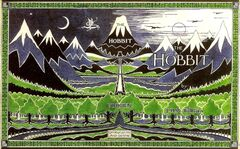 The Hobbit 1st edition dust cover