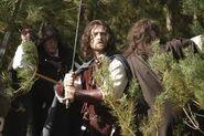 Arathorn leading his rangers