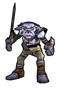 Goblin Soldier - Ugslap