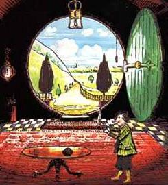Бильбо в Бэг-Энде by Tolkien