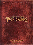 The Two Towers Extended Edition DVD Cover