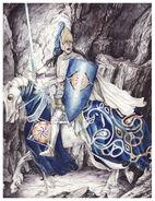 Fingolfin challenges morgoth by peet-d2ijzn7