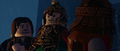 Lego lotr Theoden, Gimli, and Aragorn discuss the battle.PNG