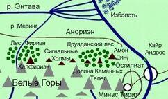 Anorien map