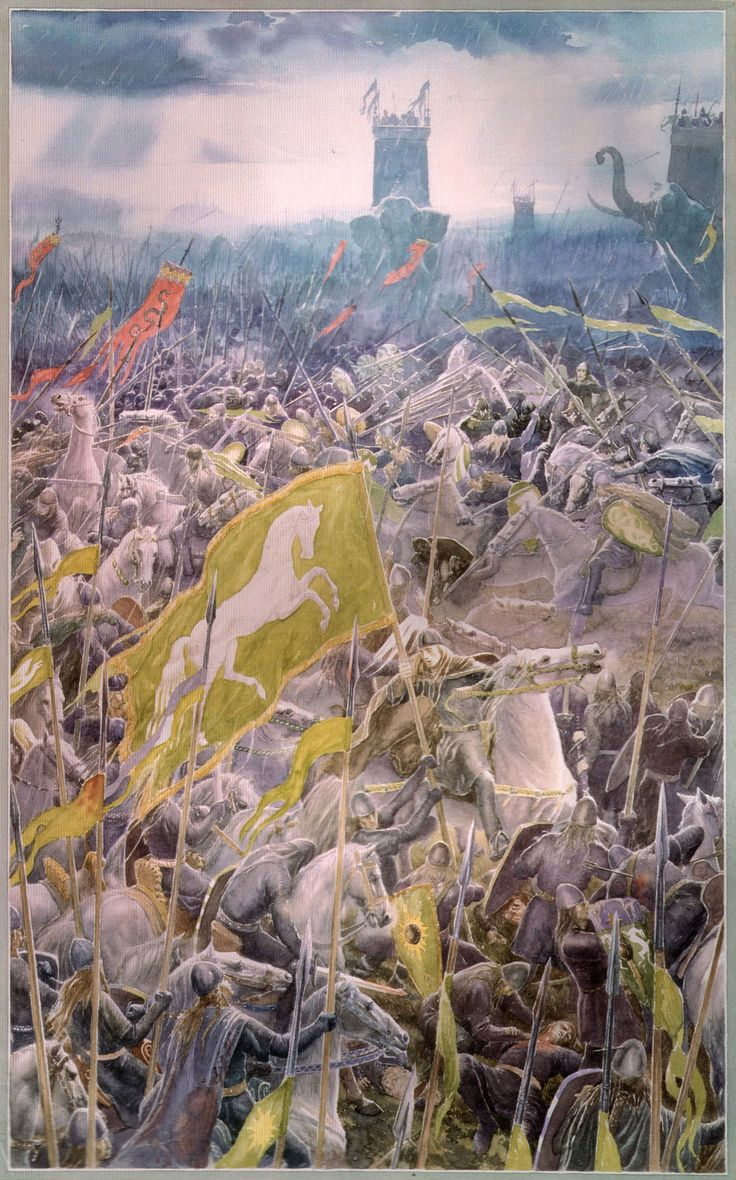 Battle of the Pelennor Fields | The One Wiki to Rule Them